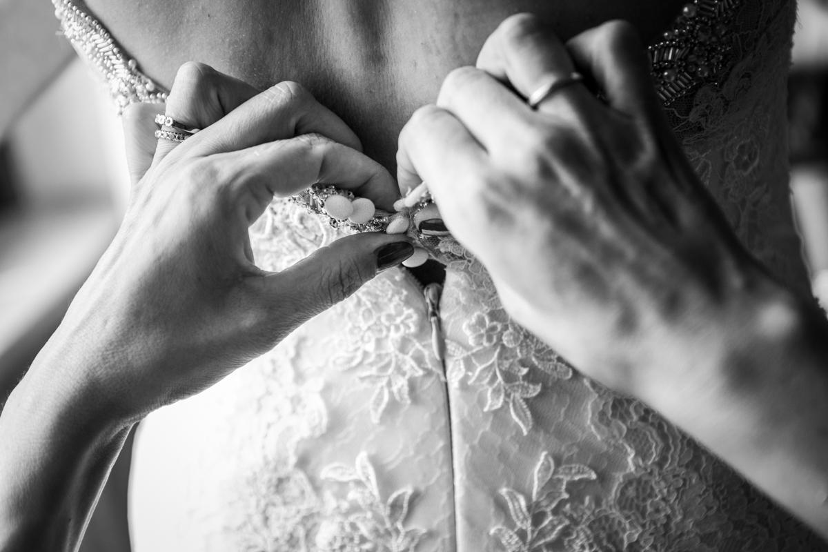 dettagli vestito da sposa