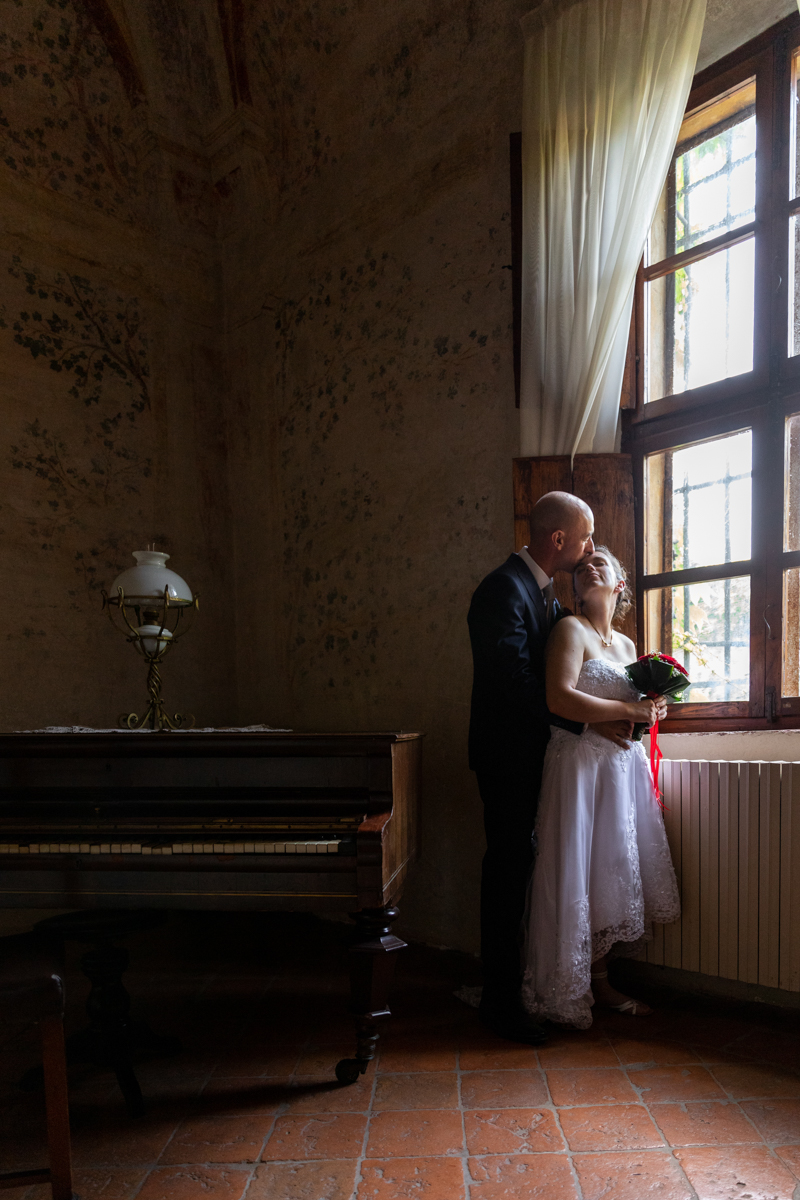 sposi a villa schiarino lena