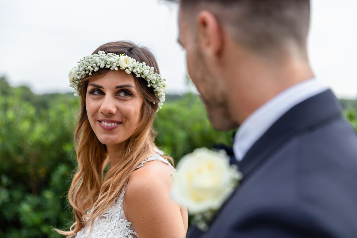 sguardo sposa brescia