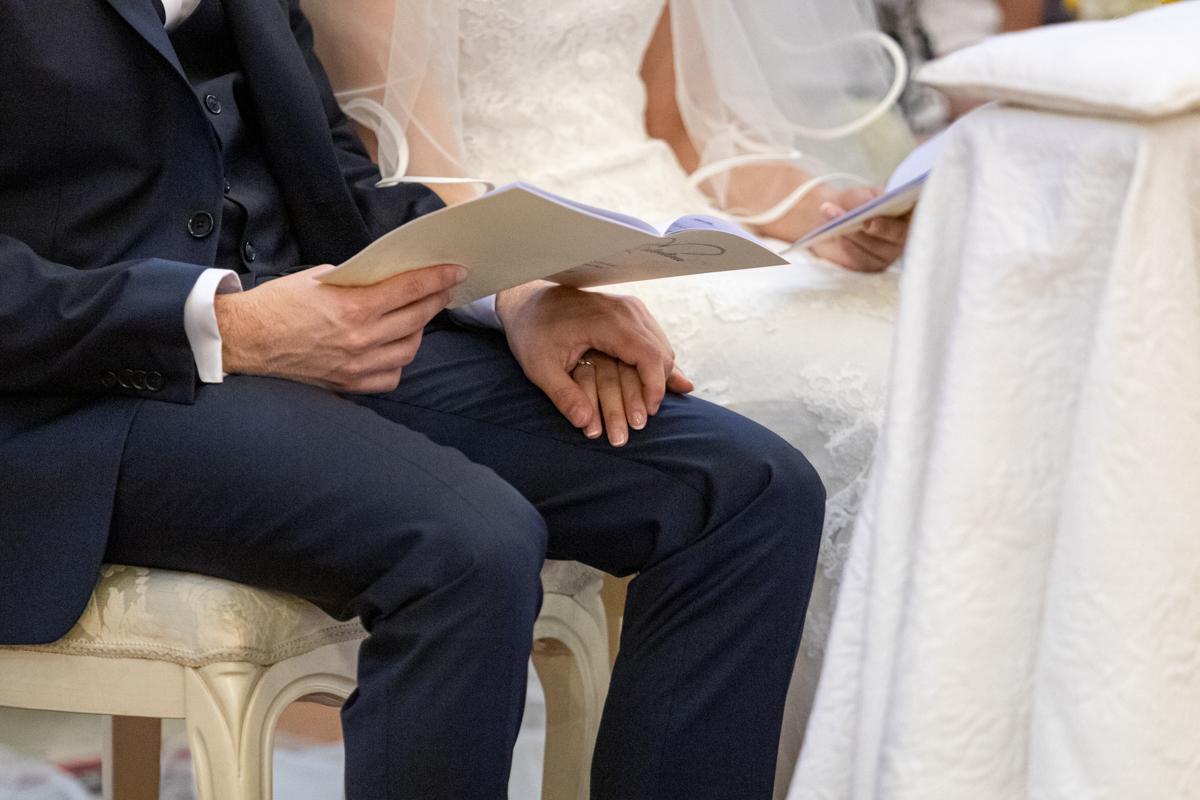 attimi di matrimonio