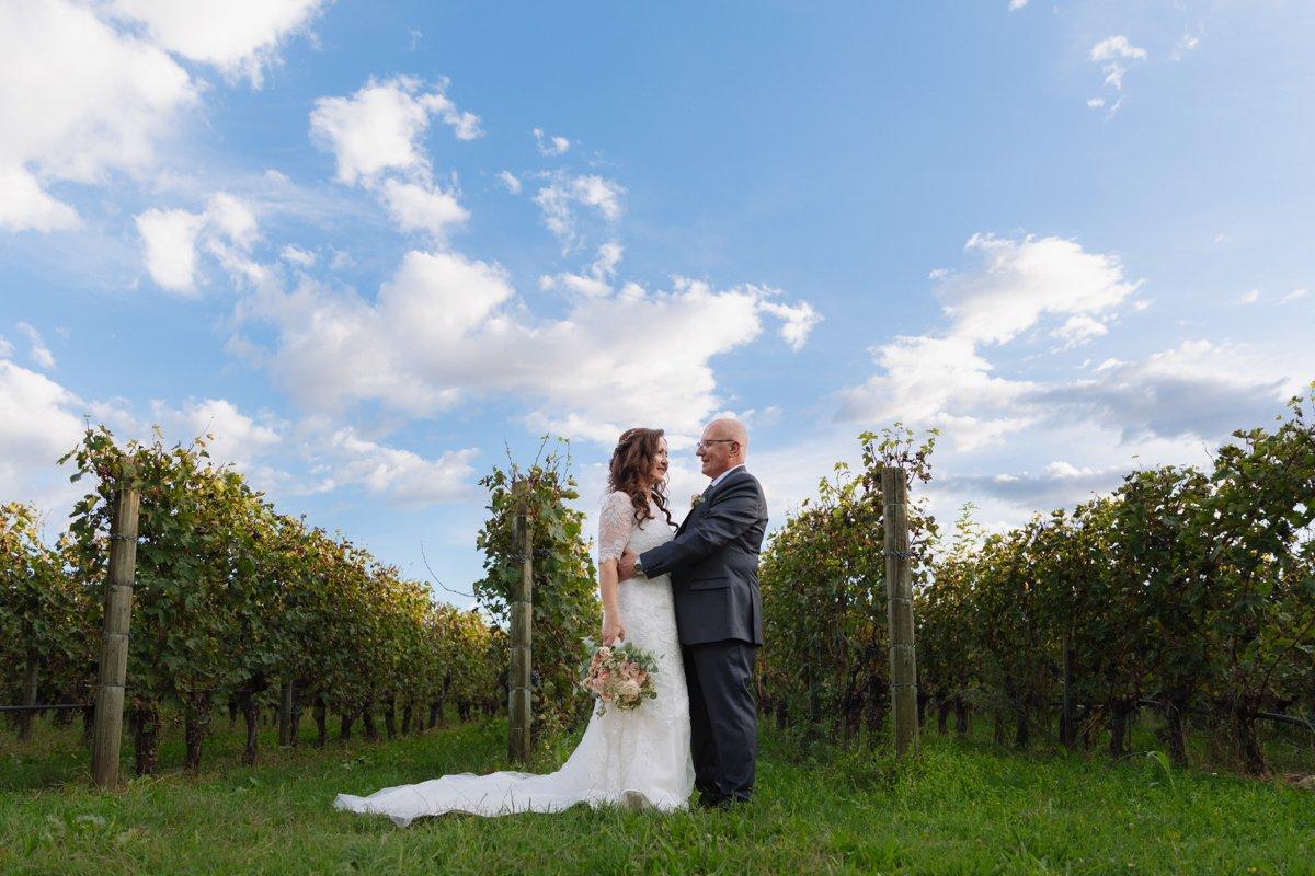 foto sposi vigne